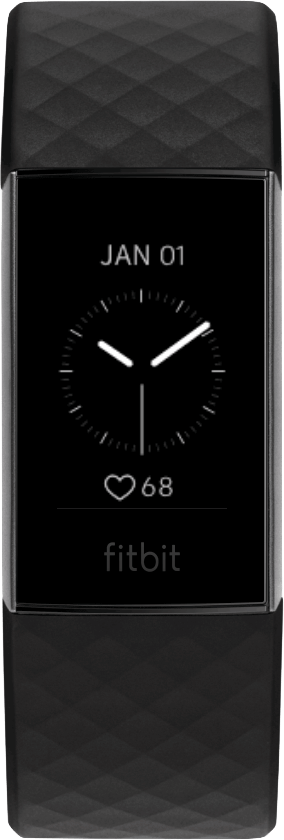 Fitbit Charge 4 Clock Face Analog Date