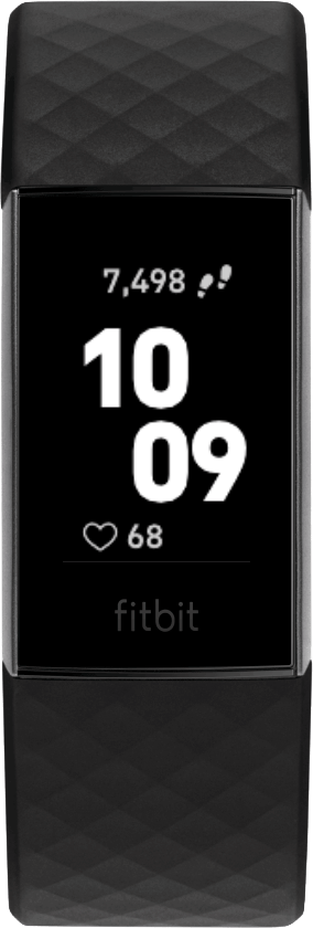 Fitbit Charge 4 Clock Face Asymmetrical Clock