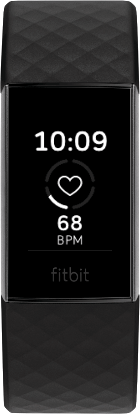 Fitbit Charge 4 Clock Face HR Stat