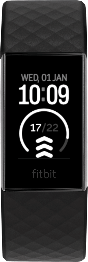 Fitbit Charge 4 Clock Face L-Azimuth