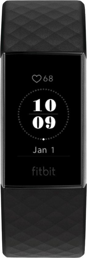 Fitbit Charge 4 Clock Face Mod Clock