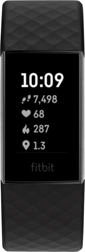 Fitbit Charge 4 Clock Face Stats Heavy