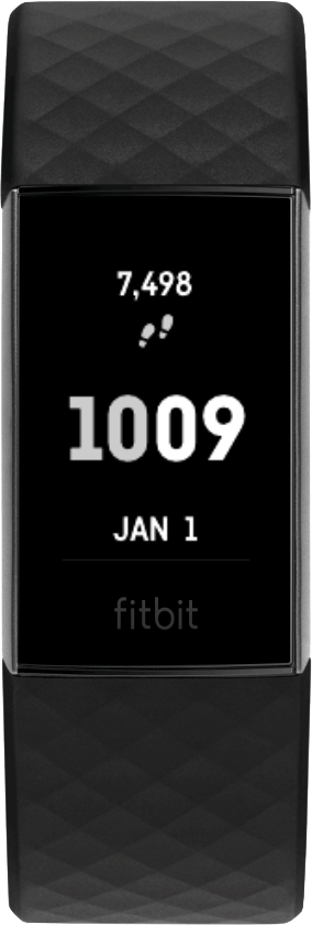 Fitbit Charge 4 Clock Face Steps Date