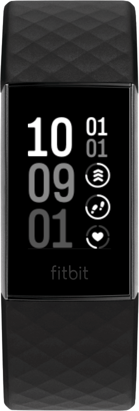 Fitbit Charge 4 Clock Face V-Lines