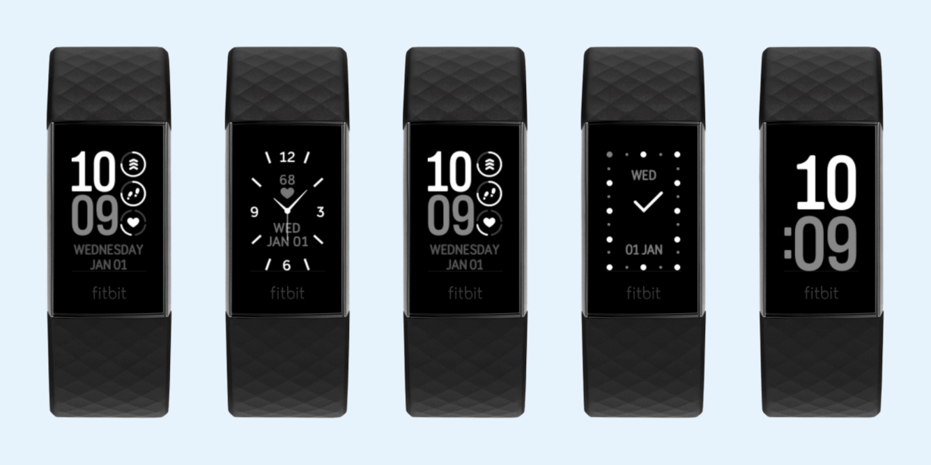 Fitbit Charge 4 Clock Faces
