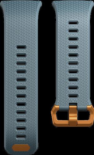 Fitbit Ionic Band Classic Slate Blue Flat