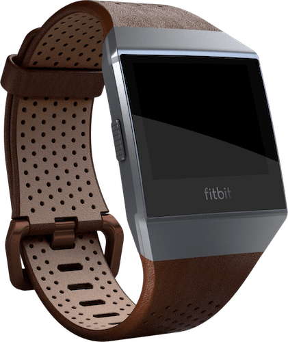 Fitbit Ionic Band Leather Cognac