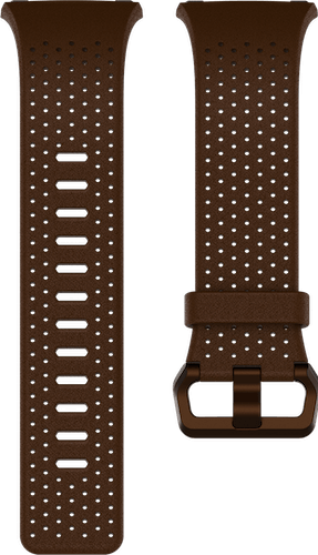 Fitbit Ionic Band Leather Cognac Flat