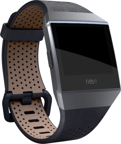 Fitbit Ionic Band Leather Midnight Blue