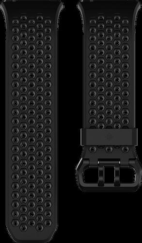 Fitbit Ionic Band Sport Black Charcoal Flat