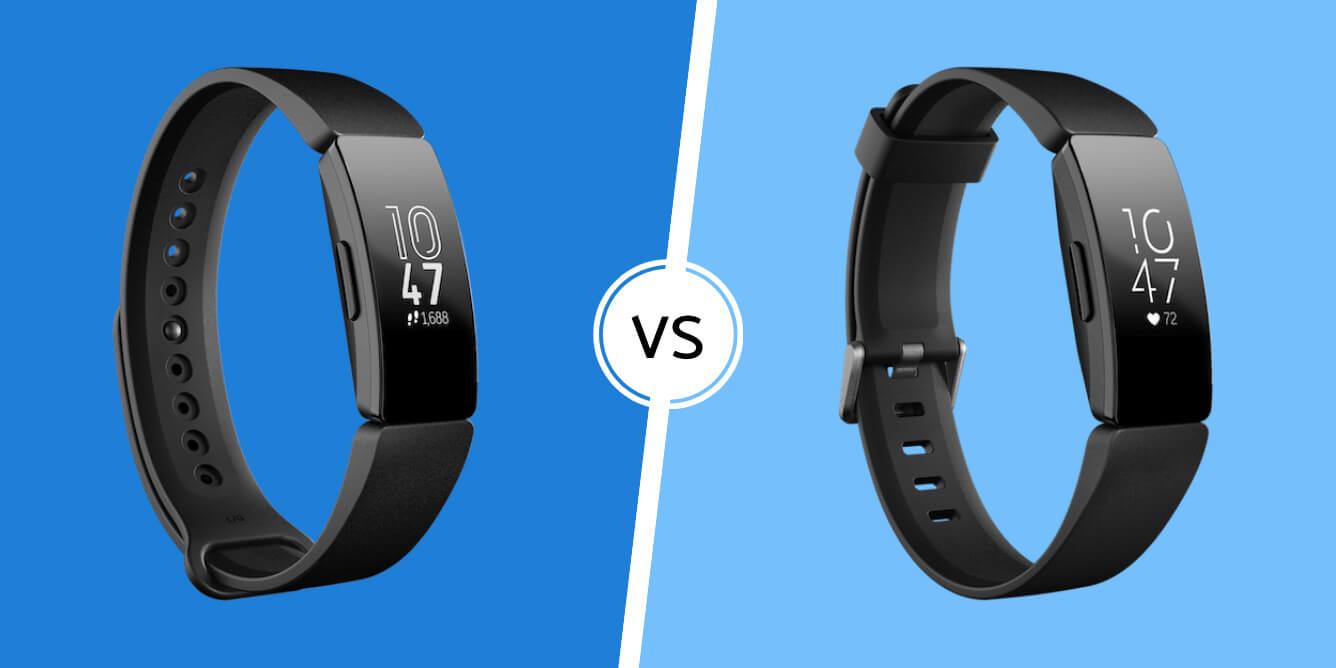 Fitbit Inspire vs Inspire HR