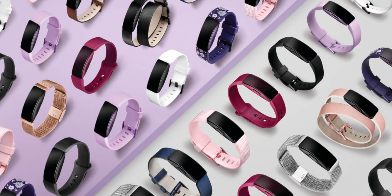 Fitbit Inspire vs Inspire HR Bands