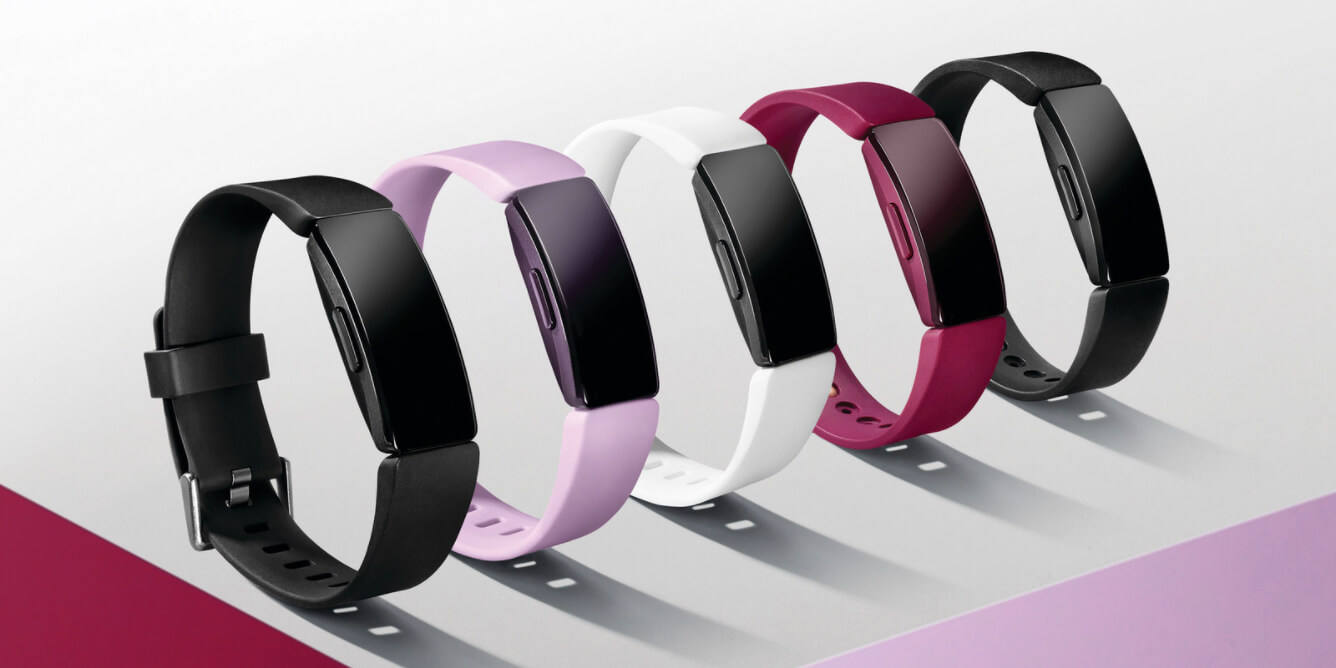 Fitbit Inspire vs Inspire HR Colors