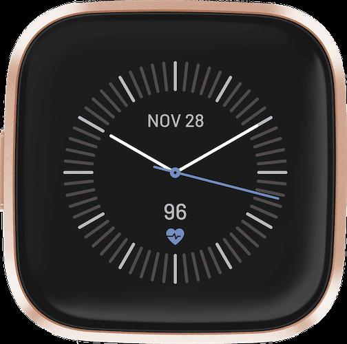 Fitbit Versa 2 Copper Rose Watch Case